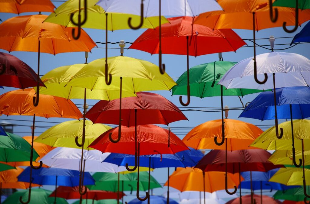 A tale of two umbrellas