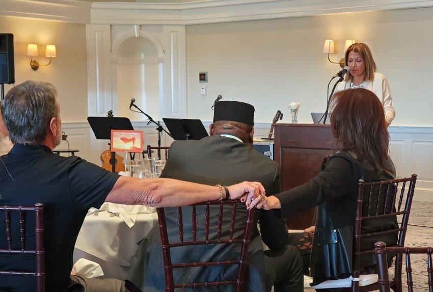 Guest Speaker at the New England Prayer Center Breakfast